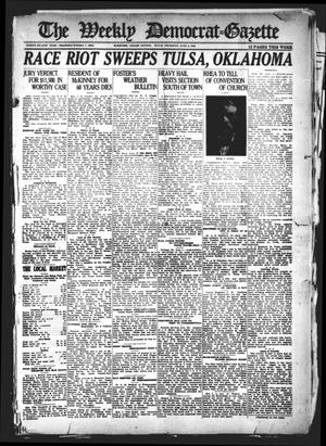 Primary view of object titled 'The Weekly Democrat-Gazette (McKinney, Tex.), Vol. 38, Ed. 1 Thursday, June 2, 1921'.