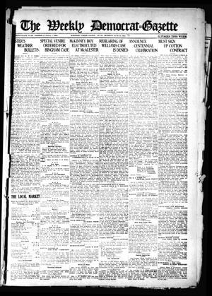 Primary view of object titled 'The Weekly Democrat-Gazette (McKinney, Tex.), Vol. 38, Ed. 1 Thursday, June 23, 1921'.