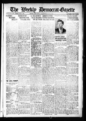 Primary view of object titled 'The Weekly Democrat-Gazette (McKinney, Tex.), Vol. 38, Ed. 1 Thursday, August 11, 1921'.