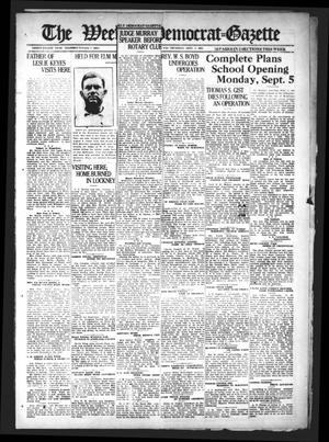 Primary view of object titled 'The Weekly Democrat-Gazette (McKinney, Tex.), Vol. 38, Ed. 1 Thursday, September 1, 1921'.