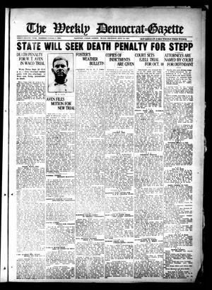 The Weekly Democrat-Gazette (McKinney, Tex.), Vol. 38, Ed. 1 Thursday, September 29, 1921
