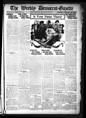 Primary view of object titled 'The Weekly Democrat-Gazette (McKinney, Tex.), Vol. 38, Ed. 1 Thursday, December 22, 1921'.