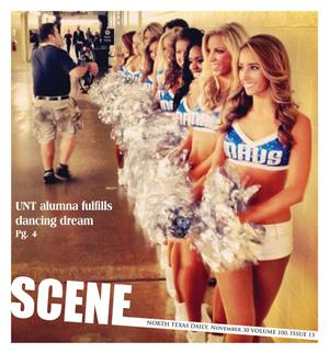 Scene: North Texas Daily (Denton, Tex.), Vol. 100, No. 13, Ed. 1 Friday, November 30, 2012
