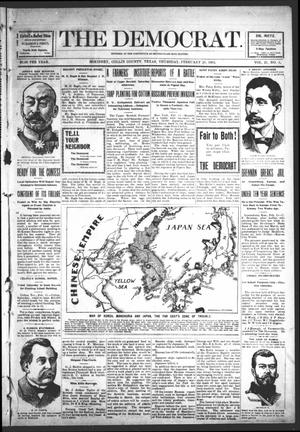 The Democrat (McKinney, Tex.), Vol. 21, No. 3, Ed. 1 Thursday, February 18, 1904