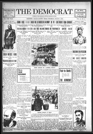 The Democrat (McKinney, Tex.), Vol. 21, No. 5, Ed. 1 Thursday, March 3, 1904