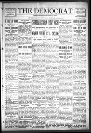 The Democrat (McKinney, Tex.), Vol. 21, No. 12, Ed. 1 Thursday, April 21, 1904