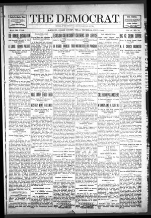 The Democrat (McKinney, Tex.), Vol. 21, No. 18, Ed. 1 Thursday, June 2, 1904