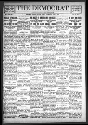 Primary view of object titled 'The Democrat (McKinney, Tex.), Vol. 22, No. 18, Ed. 1 Thursday, June 1, 1905'.