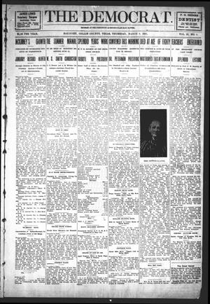 Primary view of object titled 'The Democrat (McKinney, Tex.), Vol. 23, No. 6, Ed. 1 Thursday, March 8, 1906'.