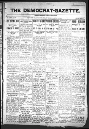Primary view of object titled 'The Democrat-Gazette (McKinney, Tex.), Vol. 23, No. 25, Ed. 1 Thursday, July 19, 1906'.