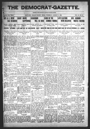 Primary view of object titled 'The Democrat-Gazette (McKinney, Tex.), Vol. 23, No. 27, Ed. 1 Thursday, August 2, 1906'.