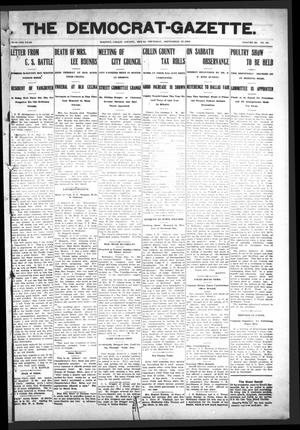 Primary view of object titled 'The Democrat-Gazette (McKinney, Tex.), Vol. 23, No. 35, Ed. 1 Thursday, September 27, 1906'.