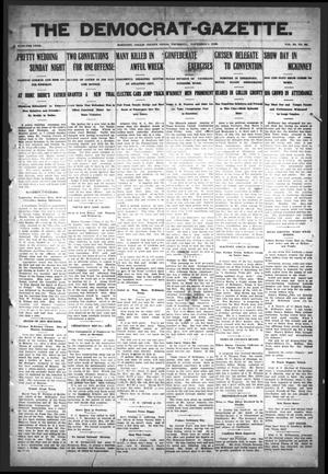 Primary view of object titled 'The Democrat-Gazette (McKinney, Tex.), Vol. 23, No. 39, Ed. 1 Thursday, November 1, 1906'.