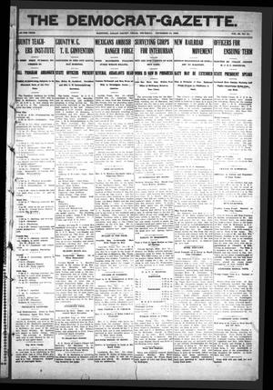 Primary view of object titled 'The Democrat-Gazette (McKinney, Tex.), Vol. 23, No. 41, Ed. 1 Thursday, November 15, 1906'.