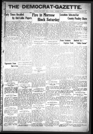 Primary view of object titled 'The Democrat-Gazette (McKinney, Tex.), Vol. 23, No. 43, Ed. 1 Thursday, November 29, 1906'.