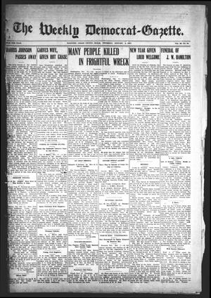 Primary view of object titled 'The Weekly Democrat-Gazette (McKinney, Tex.), Vol. 23, No. 48, Ed. 1 Thursday, January 3, 1907'.