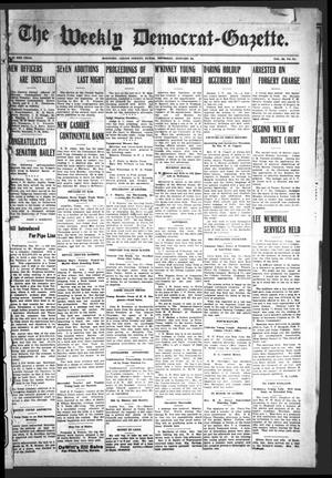 The Weekly Democrat-Gazette (McKinney, Tex.), Vol. 23, No. 51, Ed. 1 Thursday, January 24, 1907