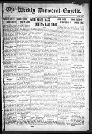 The Weekly Democrat-Gazette (McKinney, Tex.), Vol. 23, No. 52, Ed. 1 Thursday, January 31, 1907