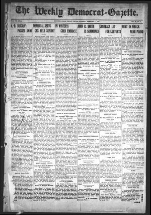 Primary view of object titled 'The Weekly Democrat-Gazette (McKinney, Tex.), Vol. 24, No. 1, Ed. 1 Thursday, February 7, 1907'.