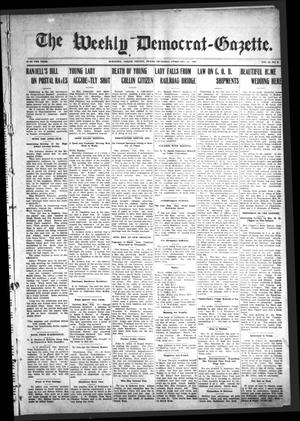 Primary view of object titled 'The Weekly Democrat-Gazette (McKinney, Tex.), Vol. 24, No. 2, Ed. 1 Thursday, February 14, 1907'.