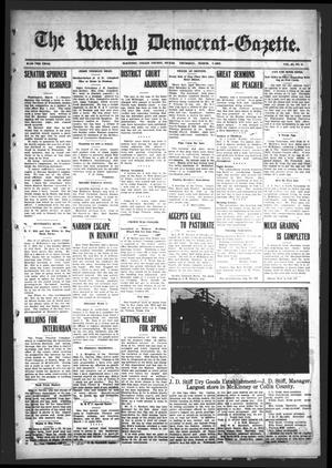 Primary view of object titled 'The Weekly Democrat-Gazette (McKinney, Tex.), Vol. 24, No. 5, Ed. 1 Thursday, March 7, 1907'.