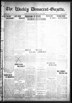 Primary view of object titled 'The Weekly Democrat-Gazette (McKinney, Tex.), Vol. 24, No. 10, Ed. 1 Thursday, April 11, 1907'.