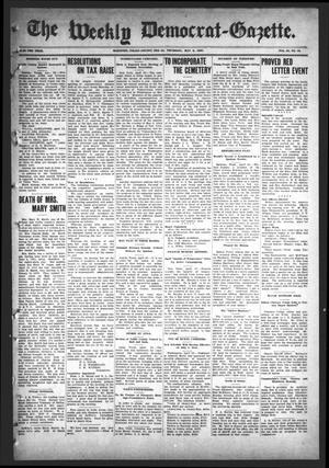 Primary view of object titled 'The Weekly Democrat-Gazette (McKinney, Tex.), Vol. 24, No. 13, Ed. 1 Thursday, May 2, 1907'.
