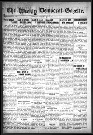 Primary view of object titled 'The Weekly Democrat-Gazette (McKinney, Tex.), Vol. 24, No. 21, Ed. 1 Thursday, July 4, 1907'.
