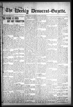 Primary view of object titled 'The Weekly Democrat-Gazette (McKinney, Tex.), Vol. 24, No. 28, Ed. 1 Thursday, August 22, 1907'.