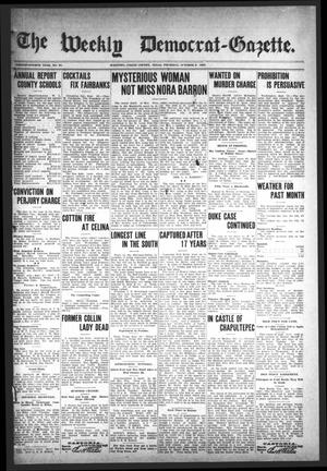 The Weekly Democrat-Gazette (McKinney, Tex.), Vol. 24, No. 34, Ed. 1 Thursday, October 3, 1907