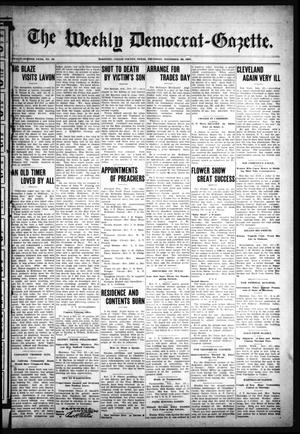The Weekly Democrat-Gazette (McKinney, Tex.), Vol. 24, No. 42, Ed. 1 Thursday, November 28, 1907