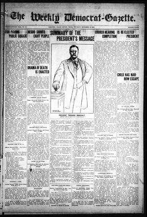 Primary view of object titled 'The Weekly Democrat-Gazette (McKinney, Tex.), Vol. 24, No. 44, Ed. 1 Thursday, December 12, 1907'.