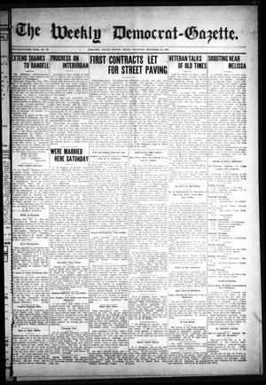 Primary view of object titled 'The Weekly Democrat-Gazette (McKinney, Tex.), Vol. 24, No. 45, Ed. 1 Thursday, December 19, 1907'.