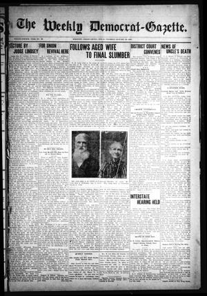 The Weekly Democrat-Gazette (McKinney, Tex.), Vol. 24, No. 49, Ed. 1 Thursday, January 16, 1908
