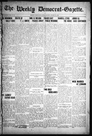 Primary view of object titled 'The Weekly Democrat-Gazette (McKinney, Tex.), Vol. 24, No. 50, Ed. 1 Thursday, January 23, 1908'.