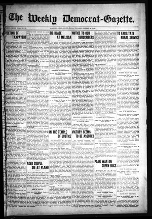 Primary view of object titled 'The Weekly Democrat-Gazette (McKinney, Tex.), Vol. 24, No. 52, Ed. 1 Thursday, January 30, 1908'.