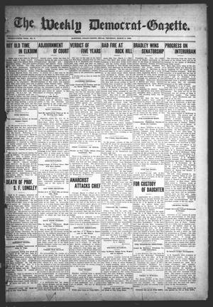 Primary view of object titled 'The Weekly Democrat-Gazette (McKinney, Tex.), Vol. 25, No. 5, Ed. 1 Thursday, March 5, 1908'.