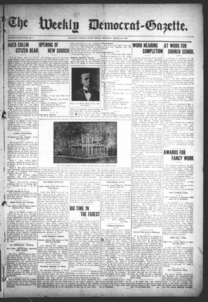 Primary view of object titled 'The Weekly Democrat-Gazette (McKinney, Tex.), Vol. 25, No. 7, Ed. 1 Thursday, March 19, 1908'.