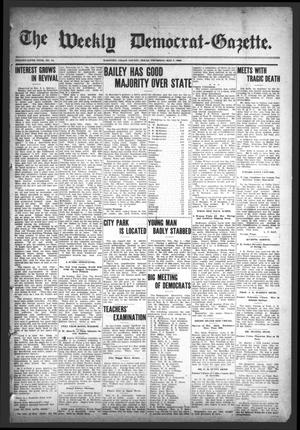 Primary view of object titled 'The Weekly Democrat-Gazette (McKinney, Tex.), Vol. 25, No. 14, Ed. 1 Thursday, May 7, 1908'.