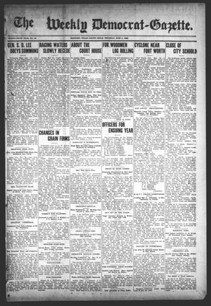 Primary view of object titled 'The Weekly Democrat-Gazette (McKinney, Tex.), Vol. 25, No. 18, Ed. 1 Thursday, June 4, 1908'.