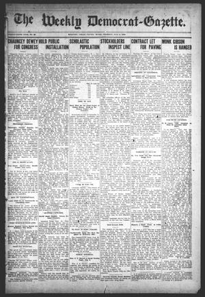 Primary view of object titled 'The Weekly Democrat-Gazette (McKinney, Tex.), Vol. 25, No. 22, Ed. 1 Thursday, July 2, 1908'.