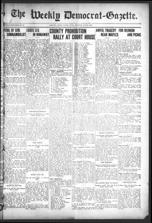 Primary view of object titled 'The Weekly Democrat-Gazette (McKinney, Tex.), Vol. 25, No. 23, Ed. 1 Thursday, July 9, 1908'.