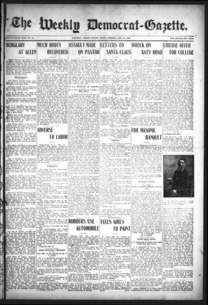 Primary view of object titled 'The Weekly Democrat-Gazette (McKinney, Tex.), Vol. 25, No. 47, Ed. 1 Thursday, December 24, 1908'.