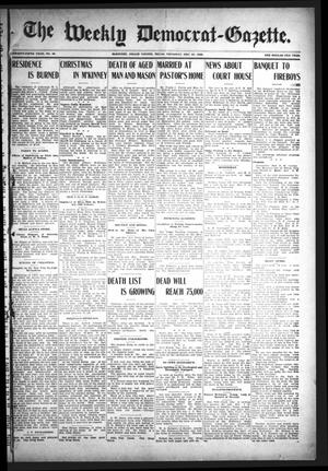 The Weekly Democrat-Gazette (McKinney, Tex.), Vol. 25, No. 48, Ed. 1 Thursday, December 31, 1908