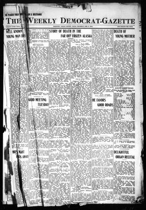 Primary view of object titled 'The Weekly Democrat-Gazette (McKinney, Tex.), Vol. 29, No. 1, Ed. 1 Thursday, February 8, 1912'.