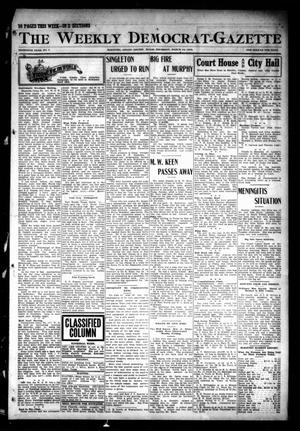 Primary view of object titled 'The Weekly Democrat-Gazette (McKinney, Tex.), Vol. 30, No. 7, Ed. 1 Thursday, March 14, 1912'.