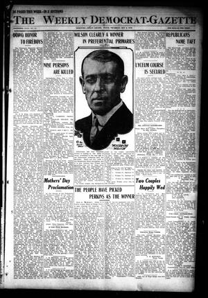 Primary view of object titled 'The Weekly Democrat-Gazette (McKinney, Tex.), Vol. 30, No. 14, Ed. 1 Thursday, May 9, 1912'.