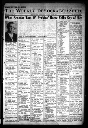 Primary view of object titled 'The Weekly Democrat-Gazette (McKinney, Tex.), Vol. 30, No. 25, Ed. 1 Thursday, July 25, 1912'.