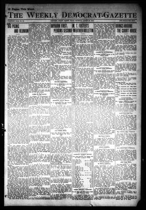 Primary view of object titled 'The Weekly Democrat-Gazette (McKinney, Tex.), Vol. 30, No. 30, Ed. 1 Thursday, August 29, 1912'.