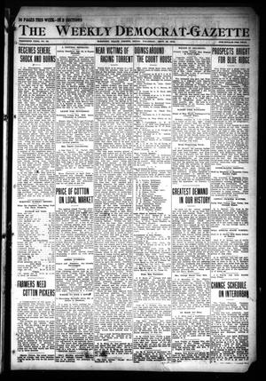 Primary view of object titled 'The Weekly Democrat-Gazette (McKinney, Tex.), Vol. 30, No. 32, Ed. 1 Thursday, September 12, 1912'.
